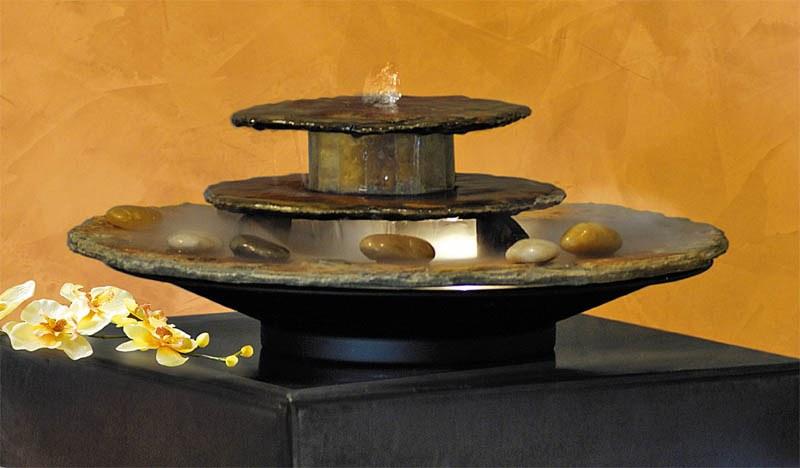 Interiérová fontána, foto: fontany.net