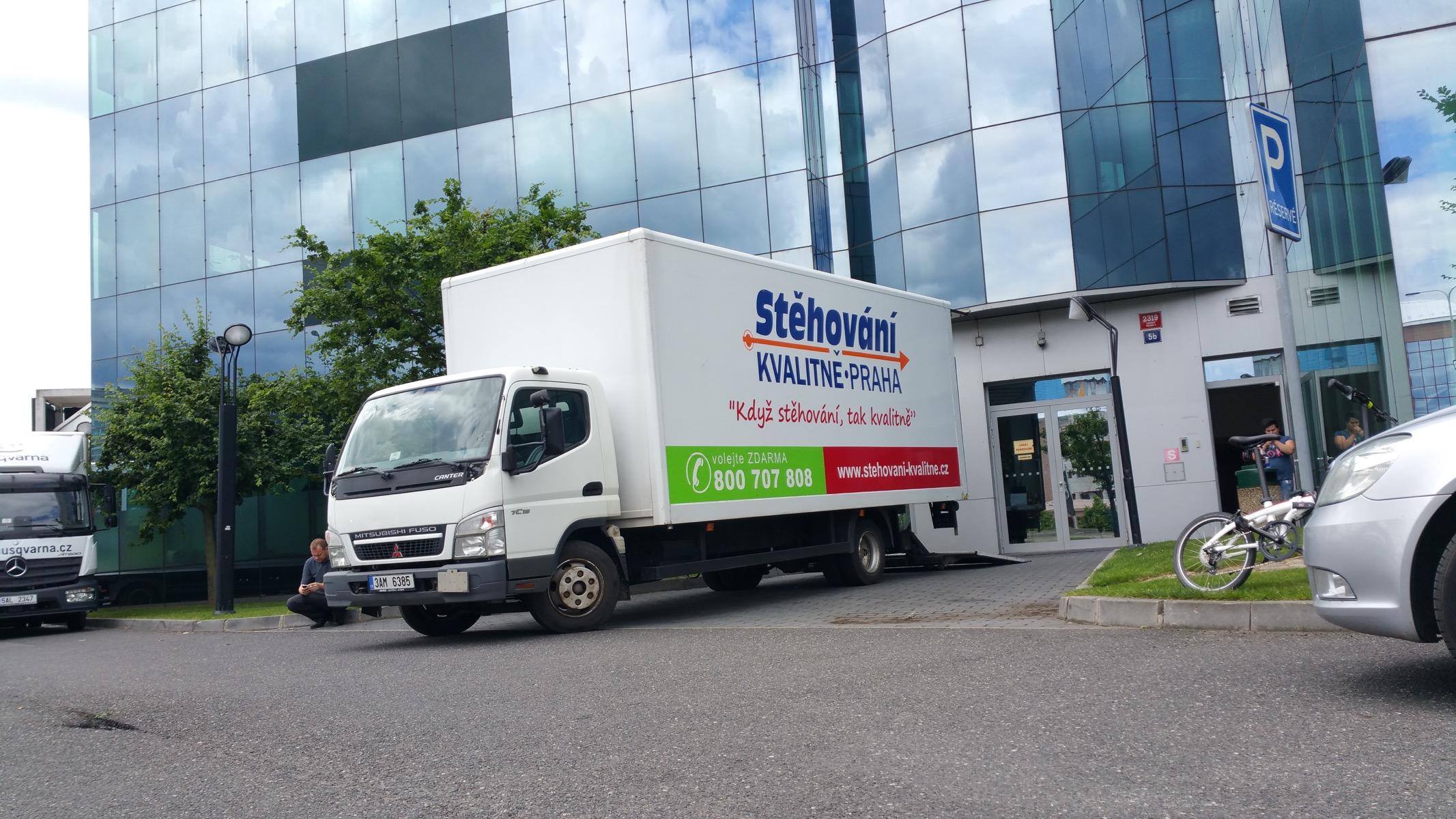 Foto: Stehovani-kvalitne.cz, stěhování bytů, domů i firem